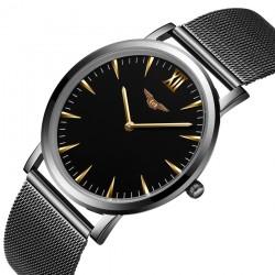 GUANQIN laikrodis su nerūdijančio plieno apyranke